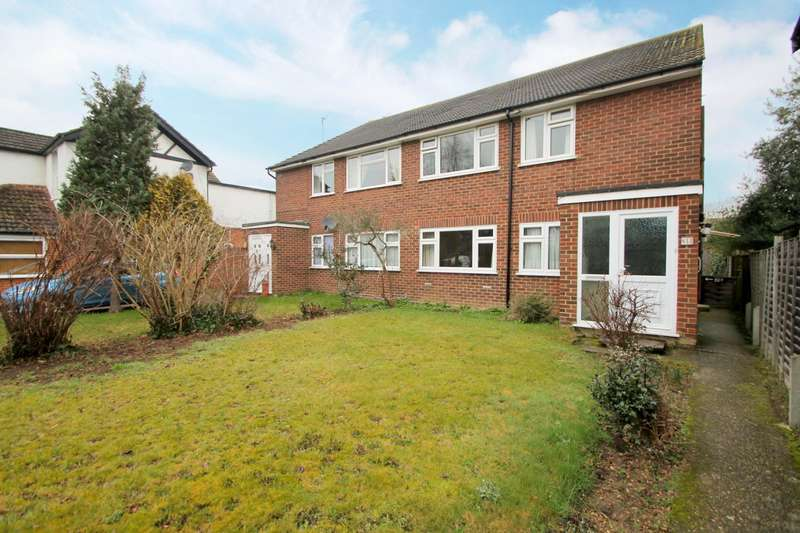 2 Bedrooms Maisonette Flat for sale in Woodthorpe Road, Ashford, TW15