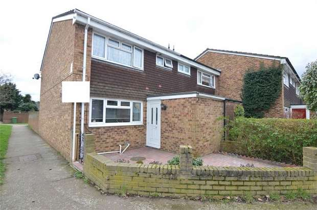 3 Bedrooms End Of Terrace House for sale in Slipe Lane, Broxbourne, Hertfordshire