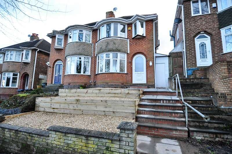 3 Bedrooms Semi Detached House for sale in Falconhurst Road, Selly Oak, Birmingham