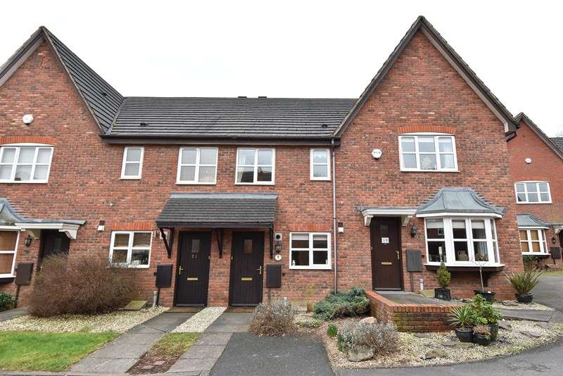 2 Bedrooms Terraced House for sale in Pavilion Gardens, Bromsgrove