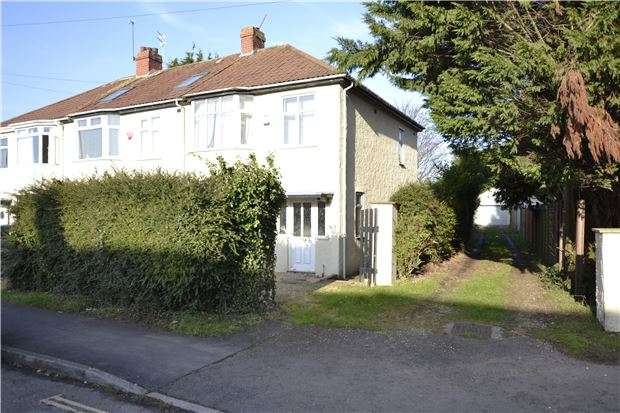 3 Bedrooms End Of Terrace House for sale in Kingsholm Road, Southmead, BRISTOL, BS10 5LJ