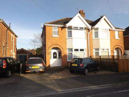 Semi Detached House for sale in Bitterne, Southampton, Hampshire