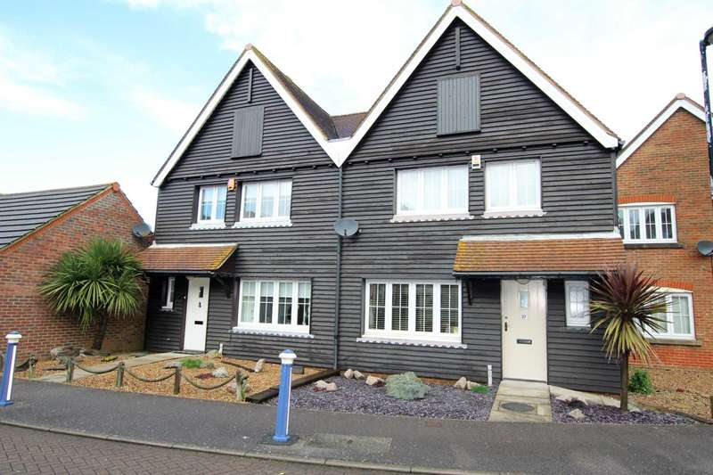 3 Bedrooms Semi Detached House for sale in Madeira Way, Eastbourne, BN23 5UL