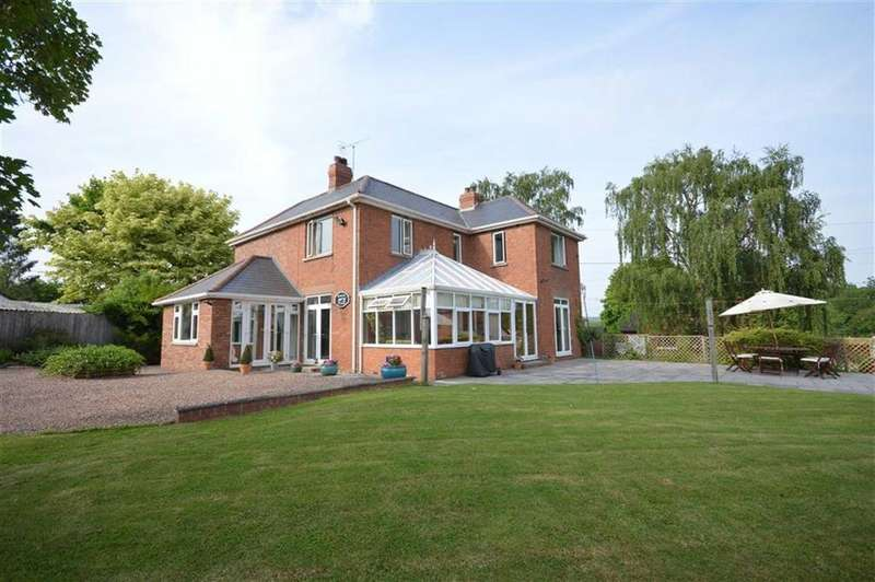 4 Bedrooms Detached House for sale in Fairview, The Moor, Bodenham, HR1
