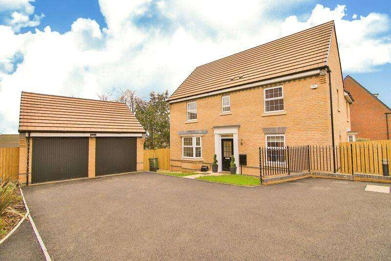 4 Bedrooms Detached House for sale in Ty'n-y-Gollen Court, Old St. Mellons, Cardiff, CF3