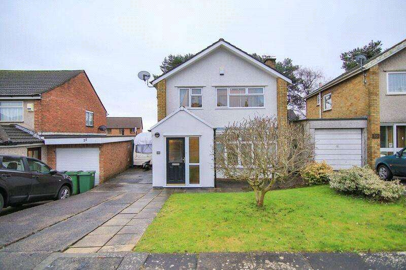 2 Bedrooms Detached House for sale in Oakwood Avenue, Penylan, Cardiff, CF23