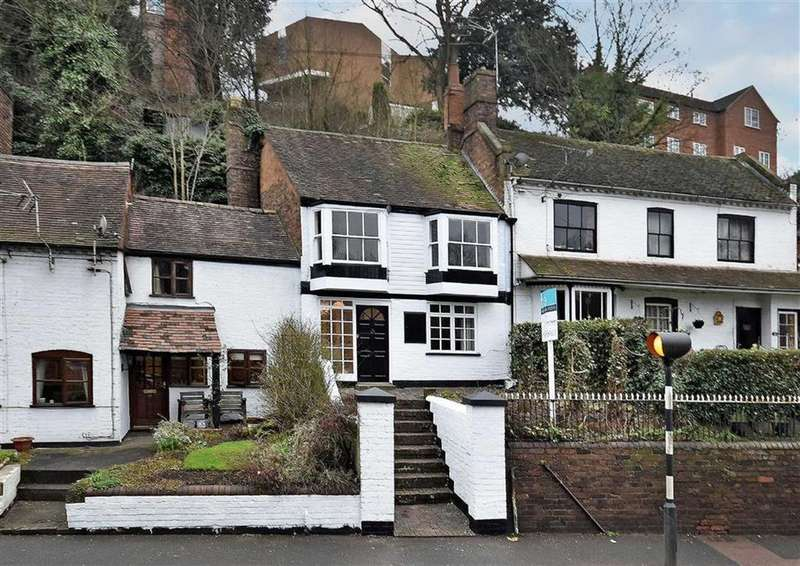 2 Bedrooms Terraced House for sale in 12a, Hollybush Road, High Town, Bridgnorth, Shropshire, WV16