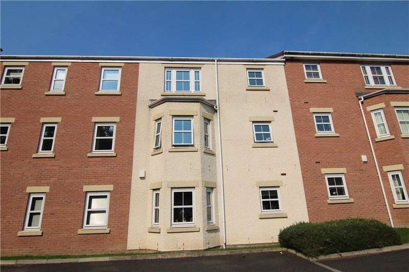 2 Bedrooms Apartment Flat for sale in Cunningham Court, Sedgefield, TS21