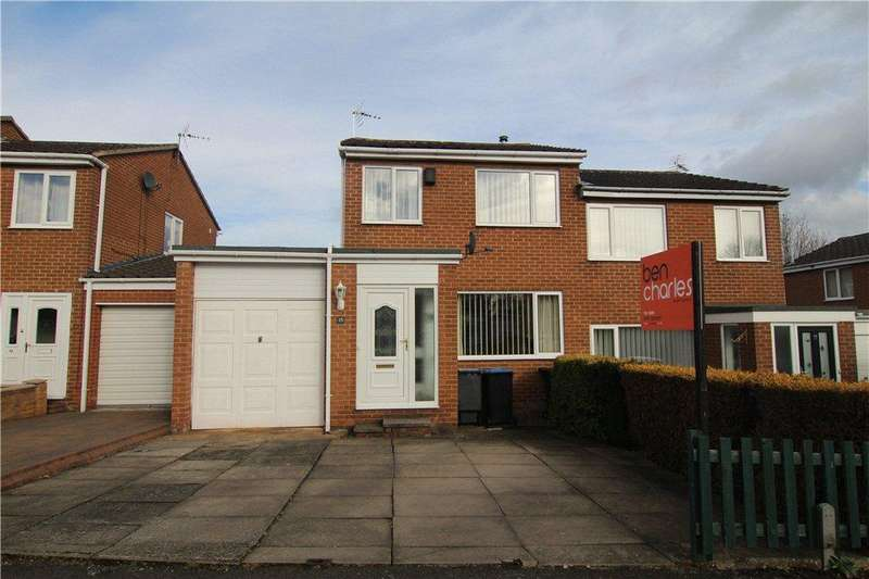 2 Bedrooms Semi Detached House for sale in Camberley Drive, Brandon, DH7