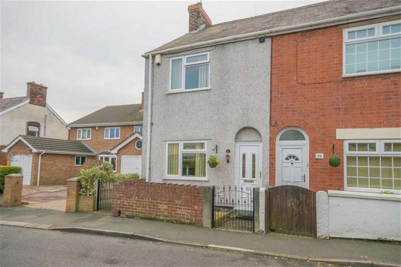 2 Bedrooms Semi Detached House for sale in Padeswood Road, Buckley, Buckley