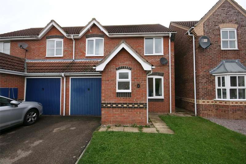 3 Bedrooms Semi Detached House for sale in Whittle Close, Wyberton, PE21