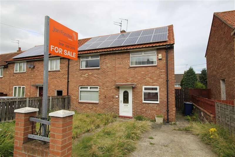 3 Bedrooms Semi Detached House for sale in Kirkwood Drive, Newcastle Upon Tyne, NE3