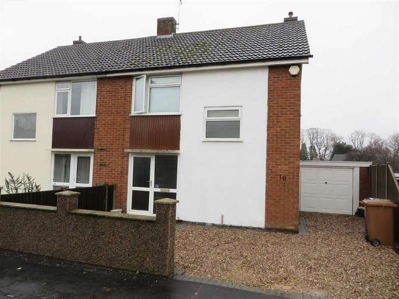 3 Bedrooms Semi Detached House for sale in Saxons Rise, Ratby
