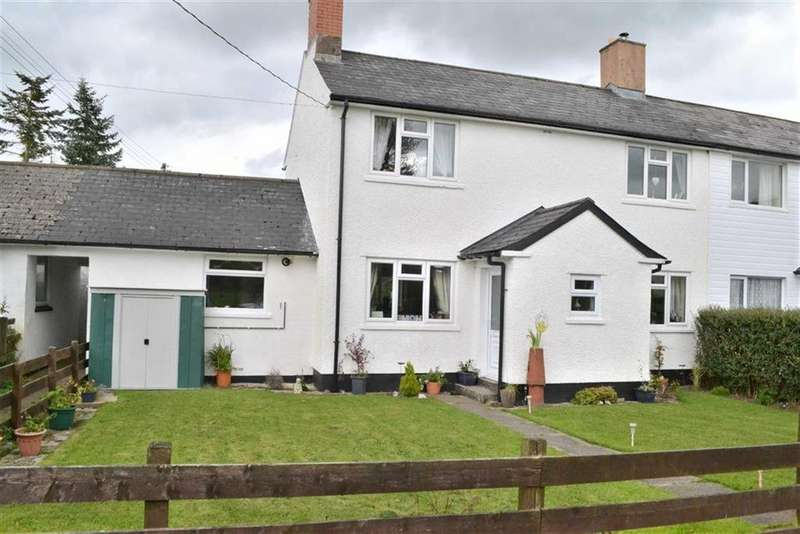 3 Bedrooms Semi Detached House for sale in 6, Brynllwyd, Llwynygog, Staylittle, Powys, SY19