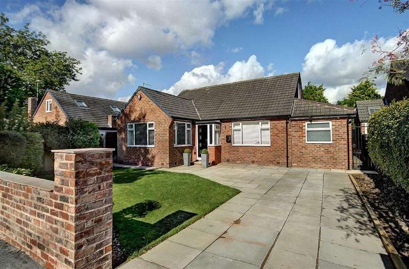 4 Bedrooms Detached Bungalow for sale in Rushey Close, Hale Barns, Cheshire