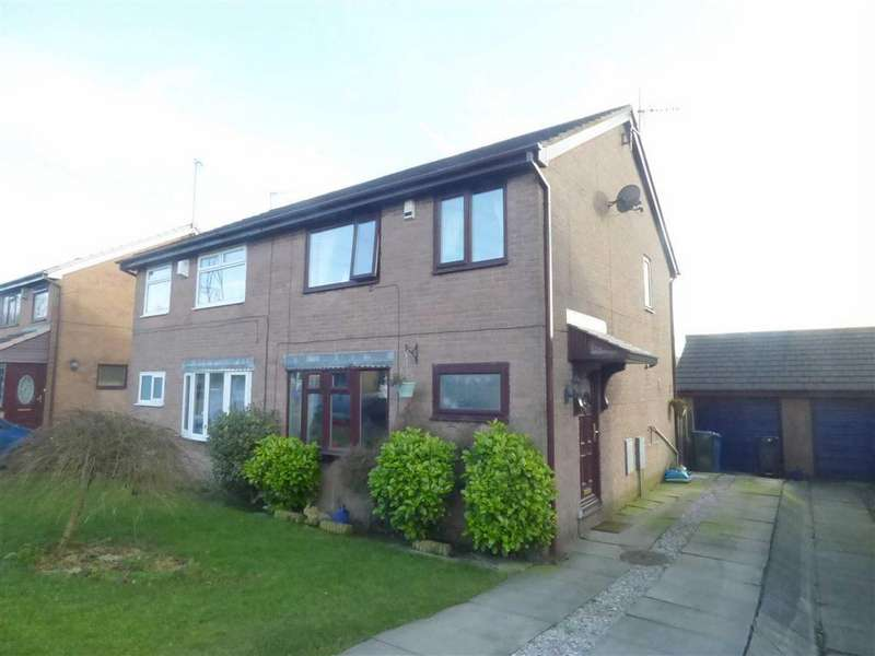 3 Bedrooms Semi Detached House for sale in The Moorlands, Bacup, Lancashire, OL13