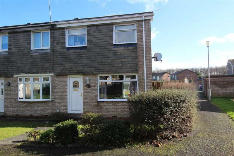 3 Bedrooms Terraced House for sale in Oxford Avenue, Eastfield Green, Cramlington