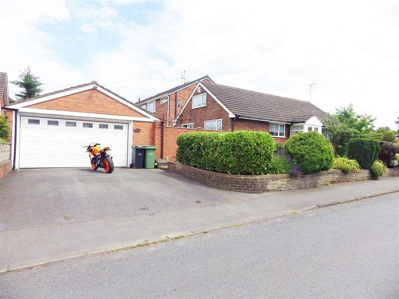 2 Bedrooms Detached Bungalow for sale in Cross Street, Wall Heath, Kingswinford