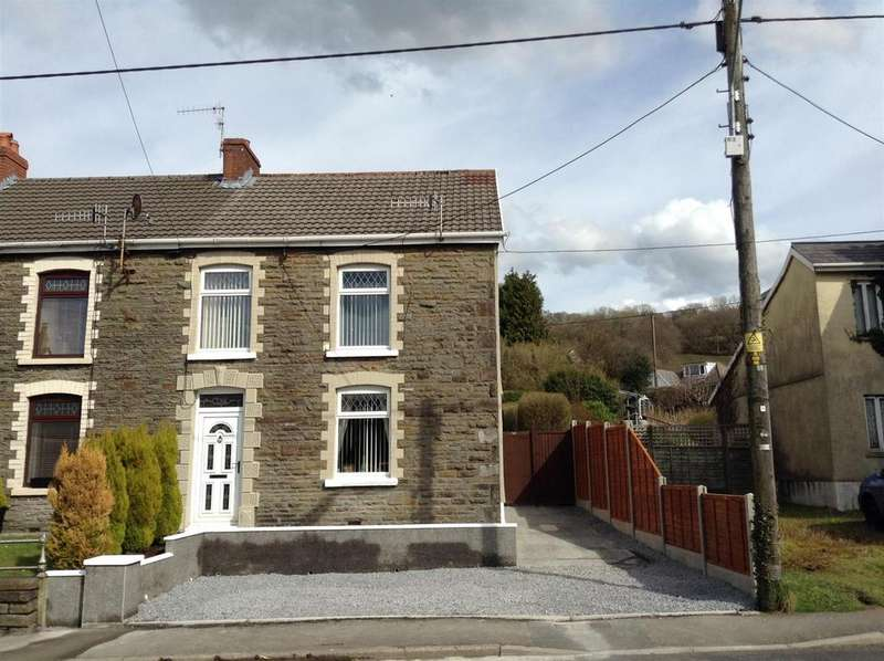 3 Bedrooms End Of Terrace House for sale in Heol Y Gors, Cwmgors, Ammanford