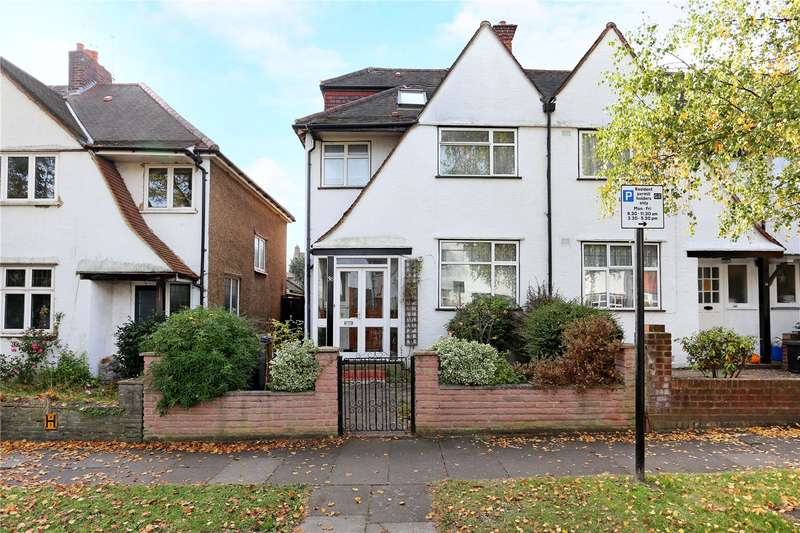 4 Bedrooms Semi Detached House for sale in Park Drive, Acton, W3