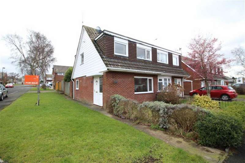 3 Bedrooms Semi Detached House for sale in Englefield Close, Newcaste Upon Tyne, NE3