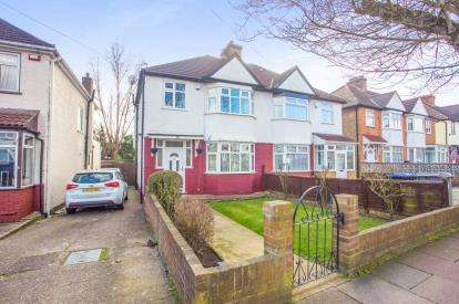 3 Bedrooms Semi Detached House for sale in Deanscroft Avenue, London