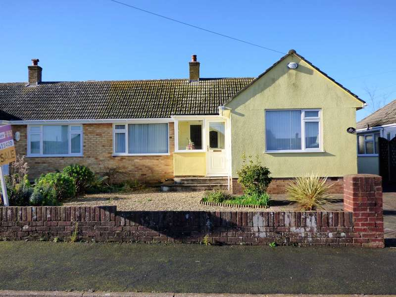 2 Bedrooms Semi Detached Bungalow for sale in Lakes Close, Brixham
