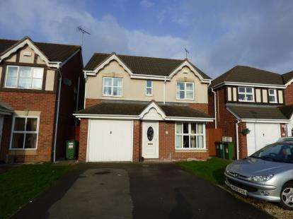 4 Bedrooms Detached House for sale in Haskell Close, Thorpe Astley, Braunstone, Leicester