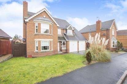 4 Bedrooms Detached House for sale in Wych Elm Road, Oadby, Leicester, Leicestershire