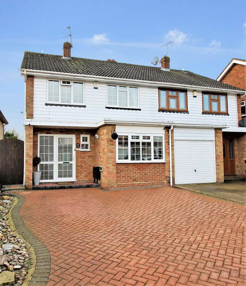 4 Bedrooms Semi Detached House for sale in Great Fox Meadow, Brentwood