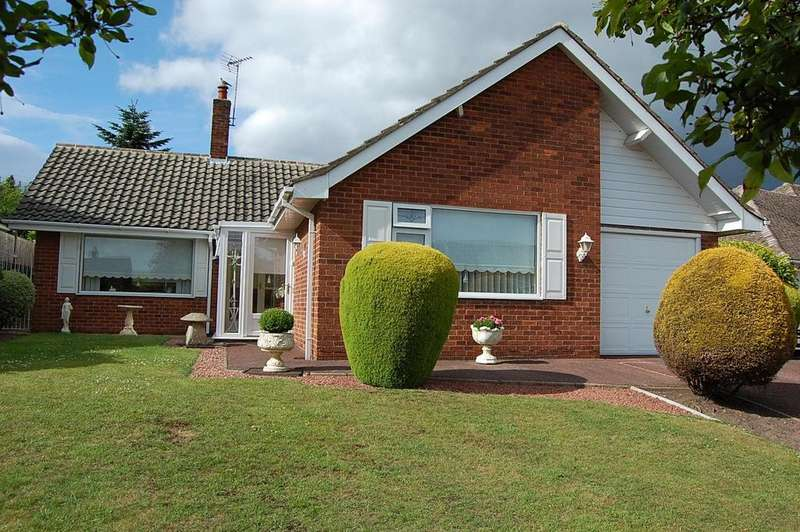 2 Bedrooms Detached Bungalow for sale in Chatsworth Drive, Mansfield