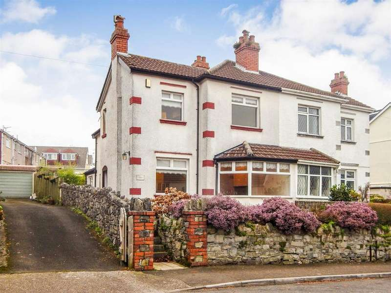 3 Bedrooms Semi Detached House for sale in Slade Road, Newton