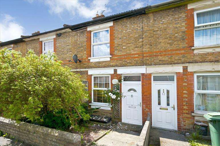 2 Bedrooms Terraced House for sale in Terminus Road Maidstone Kent, ME16 9AU