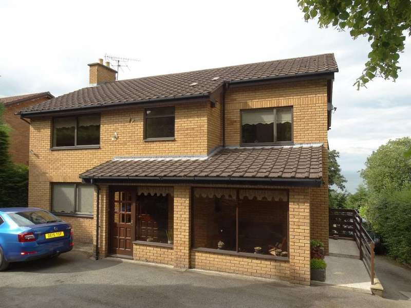 5 Bedrooms Detached House for sale in Pen Y Bryn Road, Colwyn Bay, LL29 6AF
