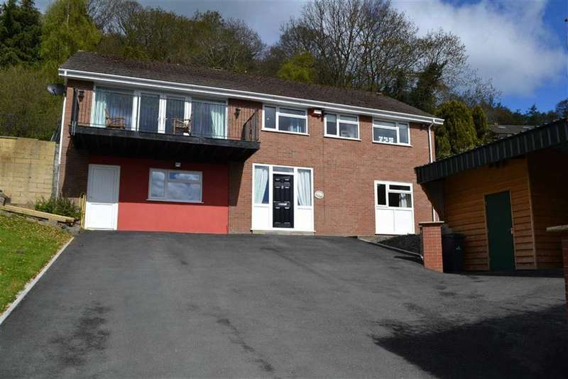 6 Bedrooms Detached House for sale in Rhosymedre, Brynwood Drive, Brynwood Drive, Newtown, Powys, SY16