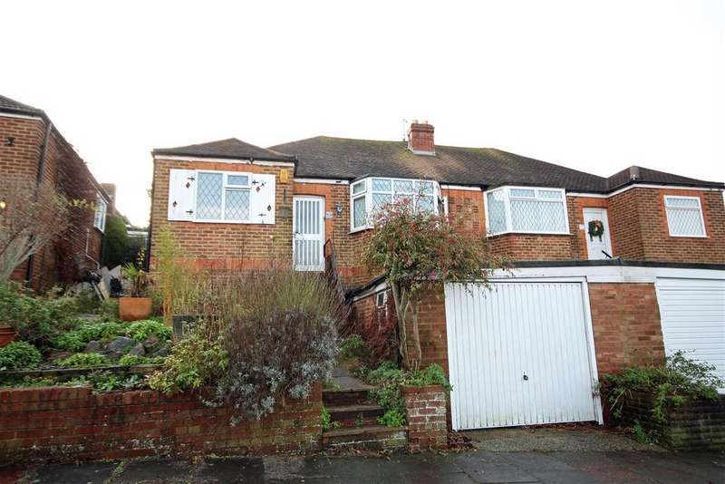 4 Bedrooms Semi Detached Bungalow for sale in Highfield Crescent, Patcham, Brighton