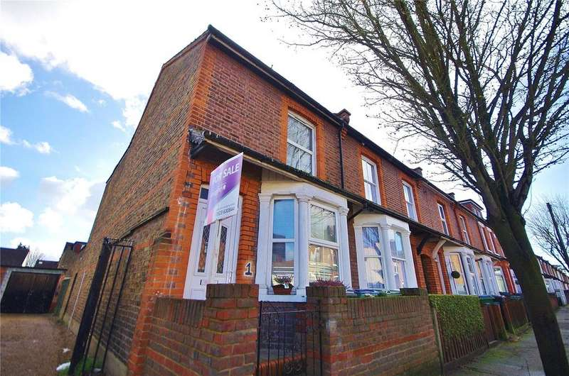 3 Bedrooms End Of Terrace House for sale in Diamond Road, Watford, Hertfordshire, WD24