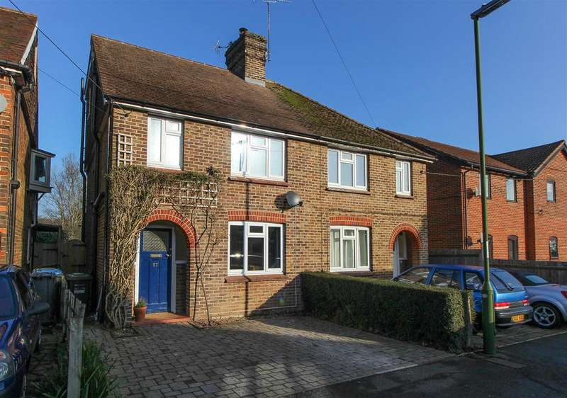 4 Bedrooms Semi Detached House for sale in Gordon Road, Haywards Heath
