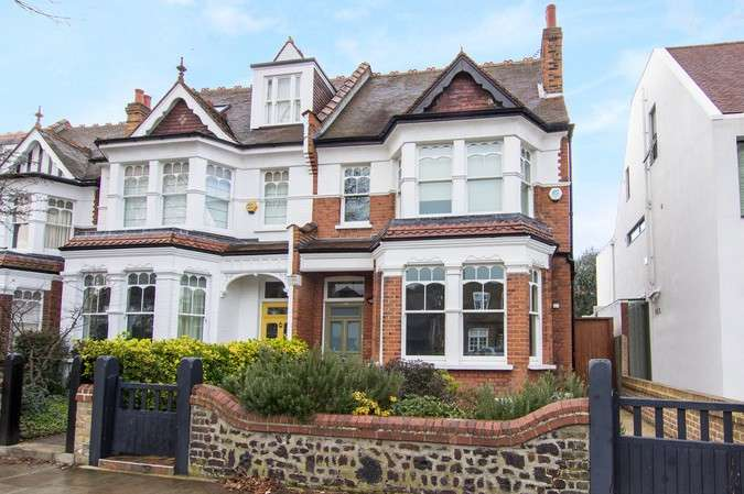 5 Bedrooms Semi Detached House for sale in Park Road, Chiswick