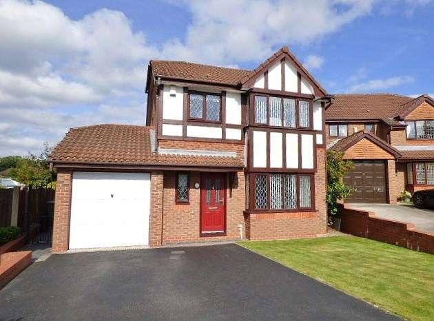 3 Bedrooms Detached House for sale in Elmwood, Norton Cross, Runcorn