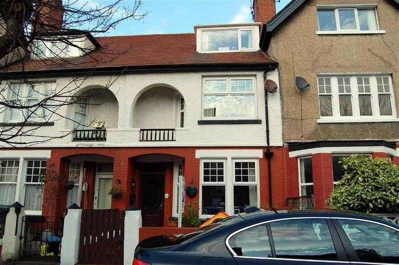 4 Bedrooms Terraced House for sale in Victoria Avenue, Craig Y Don, Llandudno, Conwy