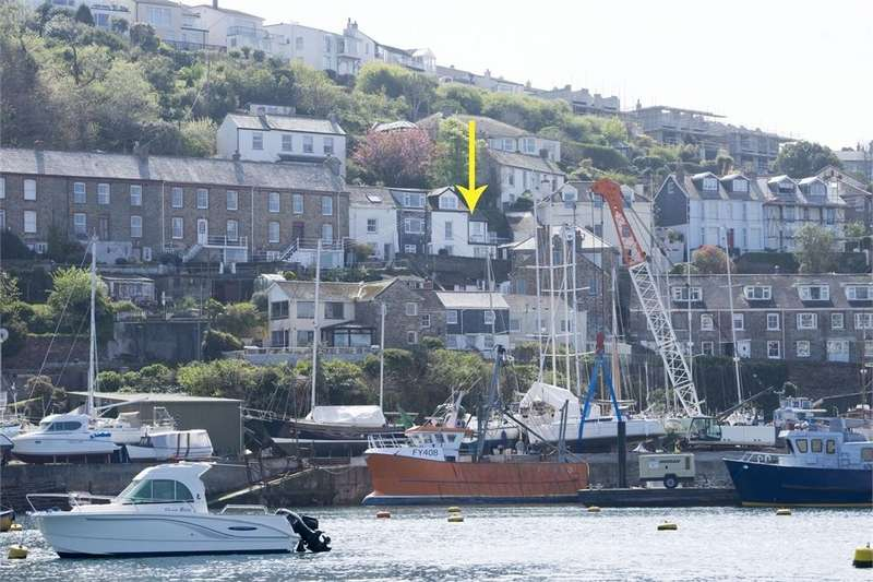 2 Bedrooms End Of Terrace House for sale in Newquay Terrace, Polruan, Fowey, Cornwall