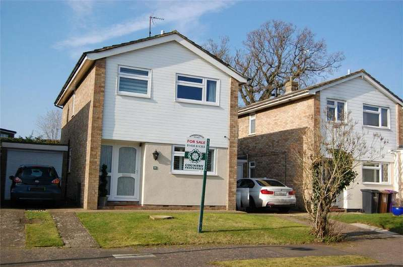 3 Bedrooms Detached House for sale in Sayer Way, KNEBWORTH, Hertfordshire