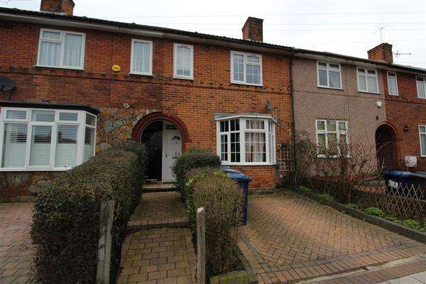 3 Bedrooms Terraced House for sale in Abbotts Road, Edgware