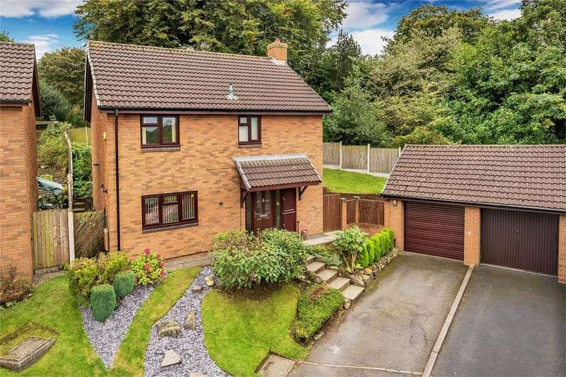 4 Bedrooms Detached House for sale in 25 Ainsdale Drive, Priorslee, Telford, Shropshire
