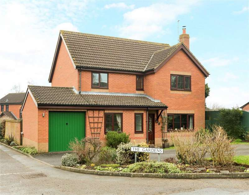 4 Bedrooms Detached House for sale in The Gardens, Heddington, Calne, Wiltshire