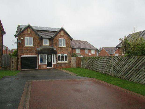 4 Bedrooms Detached House for sale in SELSET CLOSE, ELWICK RISE, HARTLEPOOL