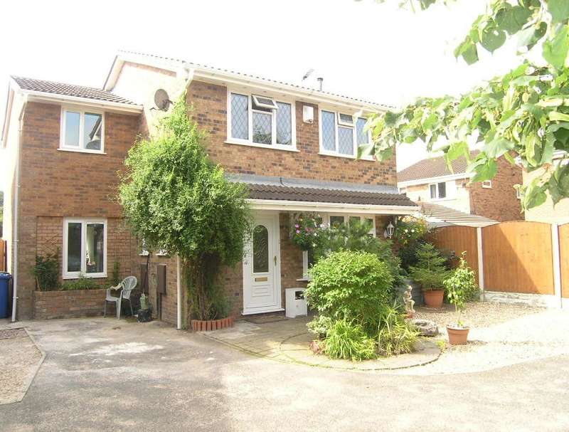 4 Bedrooms Detached House for sale in Cardigan Close, Callands, Warrington