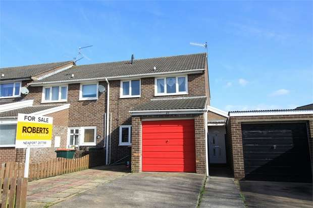 3 Bedrooms Semi Detached House for sale in 10 Buxton Close, NEWPORT