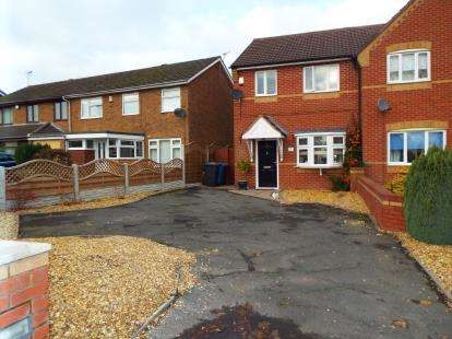 3 Bedrooms Semi Detached House for sale in Holly Lane, Great Wyrley, Walsall, Staffordshire
